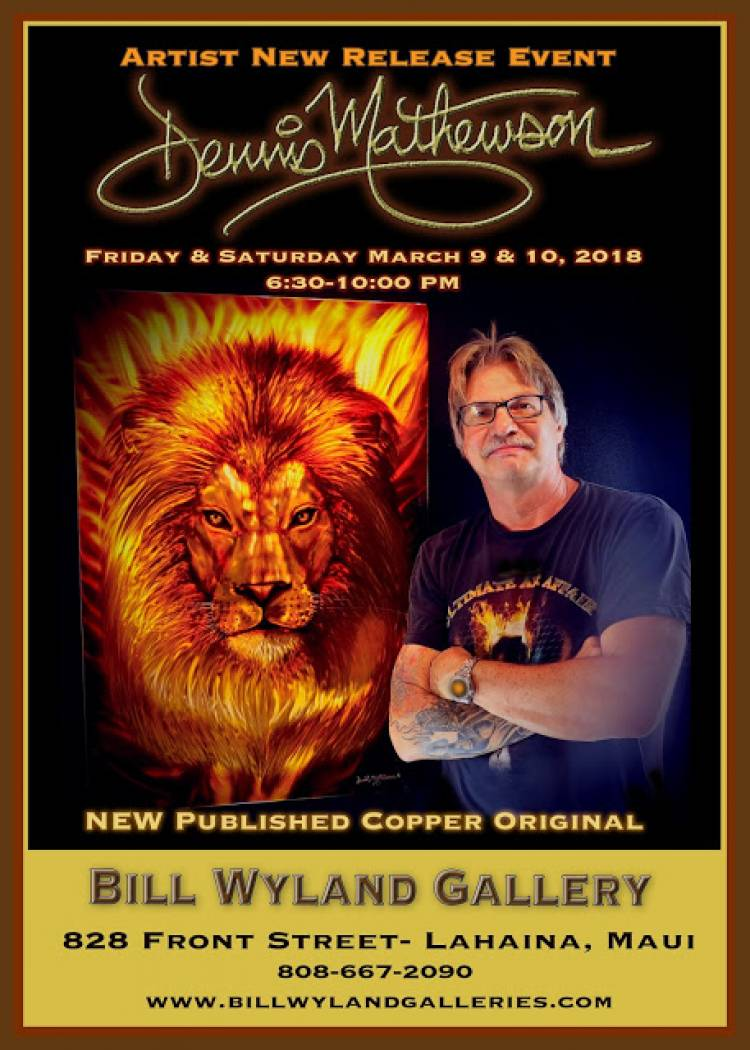 Maui's premier metal artist NEW RELEASE King on copper